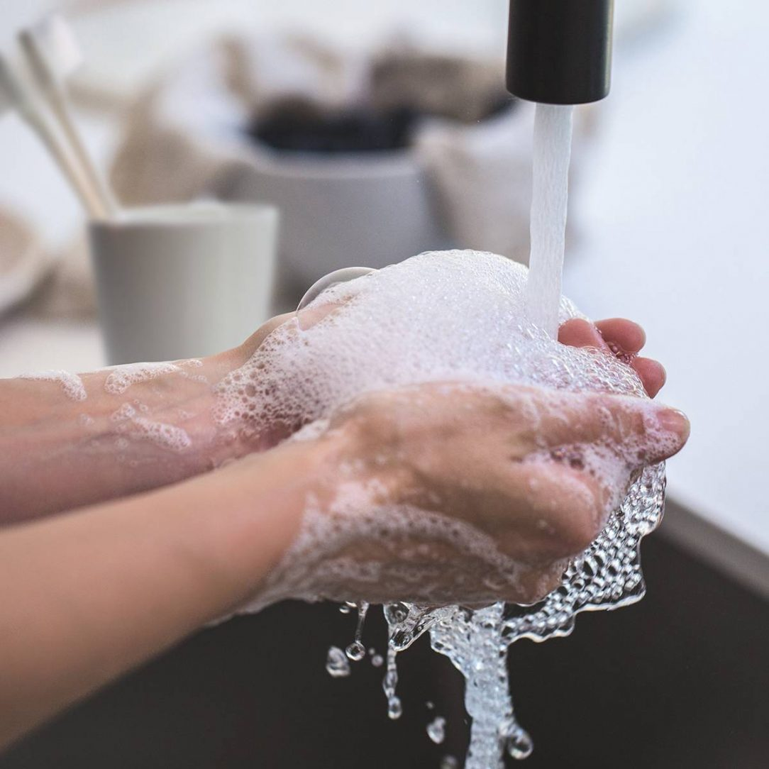 person-washing-his-hand